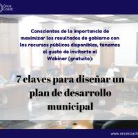 Webinar - plan de desarrollo municipal